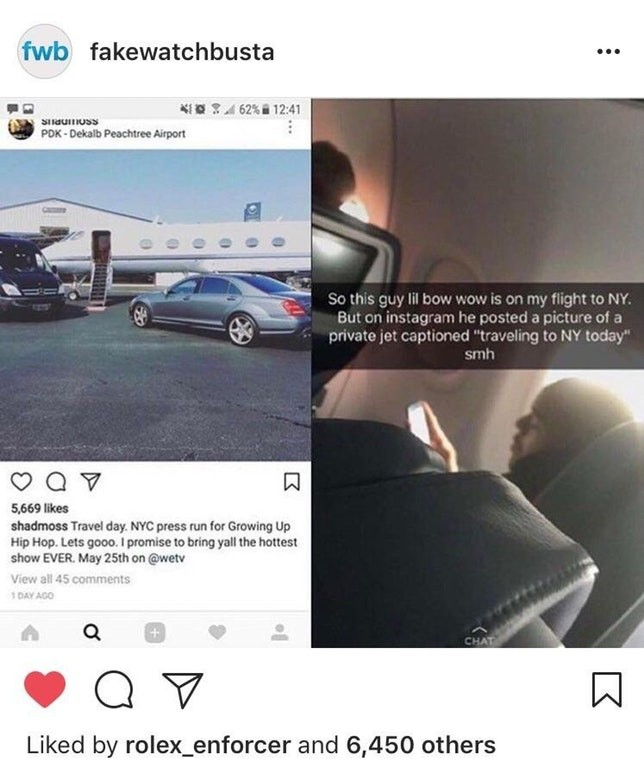 Lil Bow Wow and private plane debacle